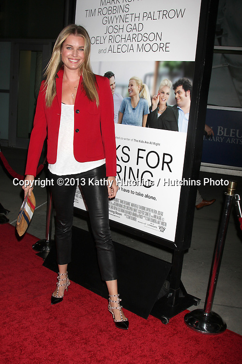 """LOS ANGELES - SEP 16:  Rebecca Romijn at the """"Thanks for Sharing"""" Premiere  at ArcLight Hollywood Theaters on September 16, 2013 in Los Angeles, CA"""
