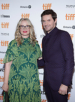 """TORONTO, ONTARIO - SEPTEMBER 07: Julie Delpy, Richard Armitage attend the """"My Zoe"""" premiere during the 2019 Toronto International Film Festival at Winter Garden Theatre on September 07, 2019 in Toronto, Canada.    <br /> CAP/MPI/IS<br /> ©IS/MPI/Capital Pictures"""