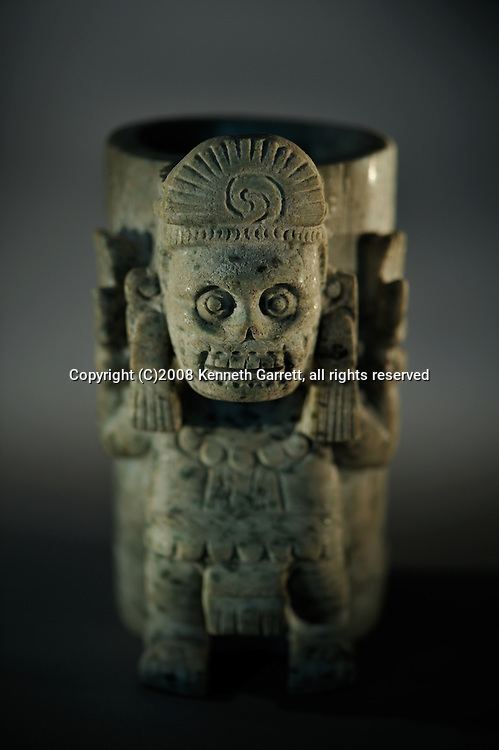 Greatest Aztecs, MM7677,  Mexico City, Mexico, Templo Mayor Museum, Skulls, Knives, Tlaloc Vessel, Mictlantecuhtli, Urna Furneraria texcatlipoca, Urna Funeraria alabaster