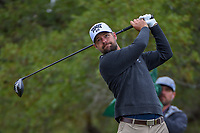 Ryan Moore (USA) watches his tee shot on 2 during Round 3 of the Valero Texas Open, AT&amp;T Oaks Course, TPC San Antonio, San Antonio, Texas, USA. 4/21/2018.<br /> Picture: Golffile   Ken Murray<br /> <br /> <br /> All photo usage must carry mandatory copyright credit (&copy; Golffile   Ken Murray)