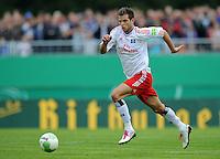 FUSSBALL   DFB POKAL   SAISON 2011/2012  1. Hauptrunde VfB Oldenburg - Hamburger SV                             30.07.2011 Dennis DIEKMEIER (Hamburger SV) Einzelaktion am Ball