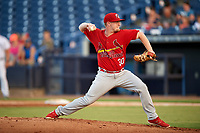 Palm Beach Cardinals starting pitcher Mike O'Reilly (30) delivers a pitch during a game against the Tampa Yankees on July 25, 2017 at George M. Steinbrenner Field in Tampa, Florida.  Tampa defeated Palm beach 7-6.  (Mike Janes/Four Seam Images)