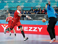 Algeria v Egypt.23rd Men's Handball World Championship. Preliminary round match.