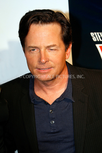 WWW.ACEPIXS.COM . . . . .  ....October 25 2010, New York City....Actor Michael J. Fox at the 'Back to the Future' 25th anniversary trilogy Blu-Ray release at Gustavino's on October 25, 2010 in New York City....Please byline: NANCY RIVERA- ACEPIXS.COM.... *** ***..Ace Pictures, Inc:  ..Tel: 646 769 0430..e-mail: info@acepixs.com..web: http://www.acepixs.com