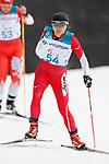 èoóàìáìçéq/Momoko Dekijima (JPN), <br /> MARCH 12, 2018 - Cross-Country Skiing : <br /> Women's free 15 km Standing  <br /> at Alpensia Biathlon Centre   <br /> during the PyeongChang 2018 Paralympics Winter Games in Pyeongchang, South Korea. <br /> (Photo by Yusuke Nakanishi/AFLO)