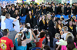 Graduates file out following the Western Nevada College Commencement at the Pony Express Pavilion, in Carson City, Nev., on Monday, May 20, 2013. For the fourth consecutive year, the college graduated its largest class in history.  .Photo by Cathleen Allison/Nevada Photo Source