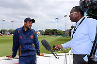 New Essex signing Mohammad Amir is interviewed by the press during Essex CCC vs Warwickshire CCC, Specsavers County Championship Division 1 Cricket at The Cloudfm County Ground on 22nd June 2017