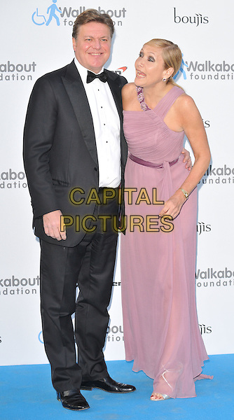 LONDON, ENGLAND - JUNE 27: Rod Barker &amp; Tania Bryer attend the Walkabout Foundation's Inaugural Gala, Natural History Museum, Cromwell Rd., on Saturday June 27, 2015 in London, England, UK. <br /> CAP/CAN<br /> &copy;Can Nguyen/Capital Pictures