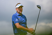 Ian Poulter (ENG) screams &quot;WOW&quot; after nearly hitting a bird inflight with his tee shot on 8 during round 3 of the Arnold Palmer Invitational at Bay Hill Golf Club, Bay Hill, Florida. 3/9/2019.<br /> Picture: Golffile | Ken Murray<br /> <br /> <br /> All photo usage must carry mandatory copyright credit (&copy; Golffile | Ken Murray)