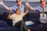 RIO DE JANEIRO, RJ, 29.04.2015 - CELEBRIDADE-RJ - O cantor e compositor Zeca Pagodinho concede entrevista coletiva de lançamento do seu novo álbum Ser Humano na sede da gravadora Universal Music, na zona oeste, nesta quarta-feira (29). (Foto: João Mattos/Brazil Photo Press)