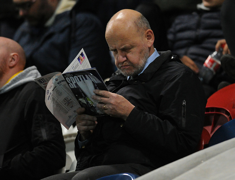 Bolton Wanderers fans enjoy the pre-match atmosphere <br /> <br /> Photographer Kevin Barnes/CameraSport<br /> <br /> EFL Leasing.com Trophy - Northern Section - Group F - Rochdale v Bolton Wanderers - Tuesday 1st October 2019  - University of Bolton Stadium - Bolton<br />  <br /> World Copyright © 2018 CameraSport. All rights reserved. 43 Linden Ave. Countesthorpe. Leicester. England. LE8 5PG - Tel: +44 (0) 116 277 4147 - admin@camerasport.com - www.camerasport.com