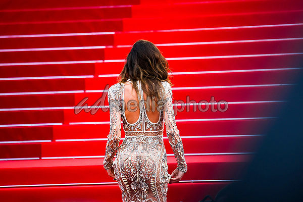 "24 May 2017 - Cannes, France - Izabel Goulart . ""The Beguiled"" Premiere during the 70th Cannes Film Festival. Photo Credit: GeorgWenzel/face to face/AdMedia"