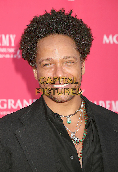 GARY DOURDAN.42nd Annual Academy Of Country Music Awards held at the MGM Grand Garden Arena, Las Vegas, Nevada, USA..May 15th, 2007.headshot portrait stubble facial hair necklace .CAP/ADM/BP.©Byron Purvis/AdMedia/Capital Pictures