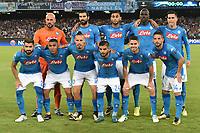 Formazione Napoli Team Line Up <br /> Napoli 16-08-2017 Stadio San Paolo <br /> Napoli - Nice Uefa Champions League 2017/2018 Play Off Foto Andrea Staccioli Insidefoto