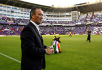 Real Valladolid´s coach Juan Ignacio Martinez during La Liga match.August 31,2013. (ALTERPHOTOS/Victor Blanco)