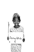 Destiny White - photographed for Flashes of Hope in Charlotte, NC at Presbyterian Hemby Children's Hospital.
