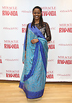 """Malaika Uwamahoro during a reception for  """"Miracle in Rwanda"""" honoring International Day of Reflection on the 1994 Genocide against the Tutsi in Rwanda at the Lion Theatre on Theater Row on April 7, 2019 in New York City."""