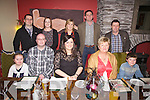 Frances Landers from Foilmore seated front centre celebrated her 30th birthday with family at Dooleys Restaurant Waterville on Saturday night last pictured front l-r; Síne O'Neill, Peter Buckley, Frances Landers, Mary Landers, Aodhán O'Neill, back l-r; James Lynch, Sarah Lynch, Annette O'Neill David O'Neill & Eoin Landers.