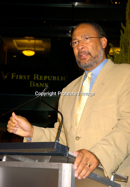 Richard Parsons..at the party given by the NYC Host Committee and Time Warner to welcome the Media to the Republican Convention on August 28. 2994