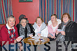 CARDS: A poker classic was held in McElligott Bar, Abbeydorney to raise funds for Killahan NS, Abbeydorney on Friday night, l-r: Michael Collins, Eileen Flaherty, Goretti Doyle, Kathleen Harty and Margaret Shanahan.