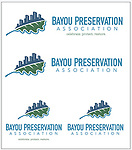 Bayou Preservation Association logos
