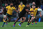 Sevu Reece. Bledisloe Cup Rugby, All Blacks v Wallabies, Eden Park, Auckland, Saturday 17 August 2019. Photo: Simon Watts/www.bwmedia.co.nz