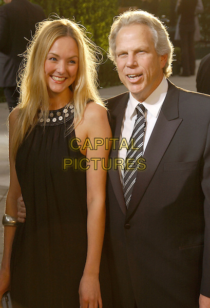 JAMIE TISCH & STEVE TISCH.The 2007 Vanity Fair Oscar Party Hosted by Graydon Carter held at Morton's, West Hollywood, California, USA,.25 February 2007..half length.CAP/ADM/GB.©Gary Boas/AdMedia/Capital Pictures.