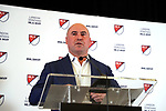 ATLANTA, GA - DECEMBER 05: MLS Senior Vice President, Competition & Player Relations Lino DiCuollo. The 2018 MLS MVP Presentation was held on December 5, 2018 at the Arthur Blank Family Center in Atlanta, GA.