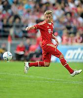 Fussball 1. Bundesliga:  Saison   2011/2012    Testspiel FC Bayern Muenchen  - Traumspiel 23.07.2011 Nils Petersen (FC Bayern Muenchen)