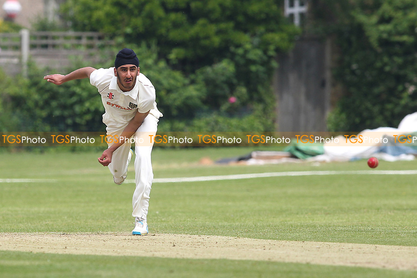 Saihaj Jaspal of South Woodford during South Woodford CC vs Billericay CC, Shepherd Neame Essex League Cup Cricket at Highfield Road on 6th May 2017