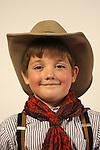 A cowboy child