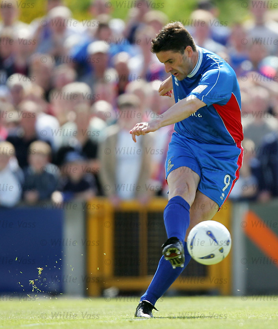 Paul Ritchie, Inverness Caley Thistle.stock season 2003-2004.pic willie vass