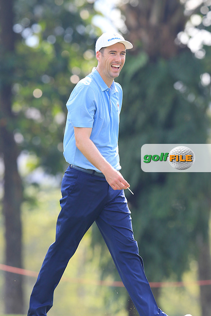 Ross Fisher (ENG) European Team during Pro-Am Day of the 2016 Eurasia Cup held at the Glenmarie Golf &amp; Country Club, Kuala Lumpur, Malaysia. 14th January 2016.<br /> Picture: Eoin Clarke | Golffile<br /> <br /> <br /> <br /> All photos usage must carry mandatory copyright credit (&copy; Golffile | Eoin Clarke)