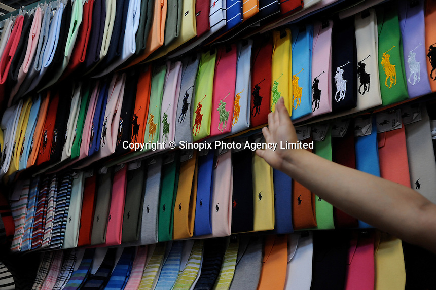 The &quot;Silk Market&quot; in Central Beijing is proving a major tourist attraction to purchase fake designer goods ranging from clothing to watches.  <br />