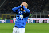 Lorenzo Insigne of Italy reacts during the Nations League League A group 3 football match between Italy and Portugal at stadio Giuseppe Meazza, Milano, November, 17, 2018 <br /> Foto Andrea Staccioli / Insidefoto