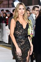 "LONDON, UK. November 20, 2019: Kimberley Garner arriving for the ""Charlie's Angels"" premiere at the Curzon Mayfair, London.<br /> Picture: Steve Vas/Featureflash"