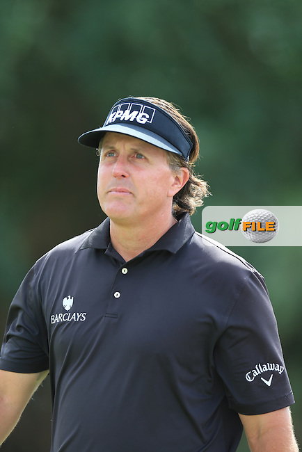 Phil Mickelson (USA) on the 5th during the final day at the WGC Cadillac championship at Doral Golf Resort & Spa,Doral, Florida,USA..Picture: Fran Caffrey / www.golffile.ie ..