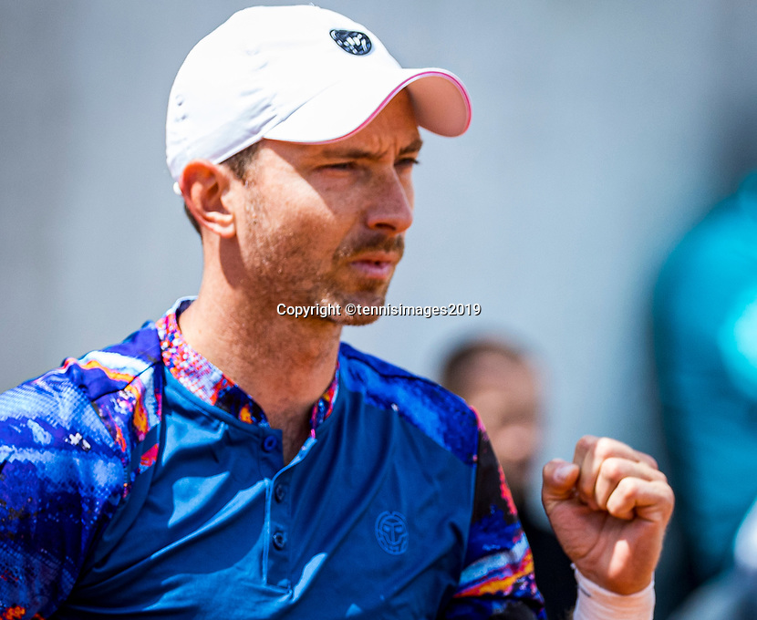 Paris, France, 28 May, 2019, Tennis, French Open, Roland Garros, Men's doubles: Matwe Middelkoop (NED) <br /> Photo: Henk Koster/tennisimages.com