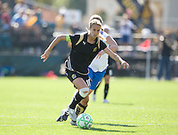 Leslie Osborne. FC Gold Pride defeated the Boston Breakers, 2-1, in their home opener on April 5, 2009 at Buck Shaw Stadium in Santa Clara, CA.