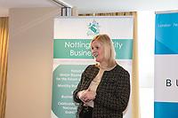 February Guest speaker Karen Smart, Managing Director of East Midlands Airport