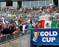 Mexican fans prior to the matches of Costa Rica vs El Salvador and Mexico vs Cuba in the Concacaf Gold Cup