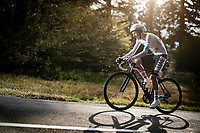 21 year old Tadej Pogačar (SVN/UAE-Emirates) is writing cycling history as he is about to pulverise the oposition on the steep parts of the individual time trial up the infamous Planche des Belles Filles by winning the stage in dominant fashion and turning his 57 seconds deficit into a 59 second lead over his compatriot & then GC leader Primoz Roglic.<br /> <br /> Stage 20 (ITT) from Lure to La Planche des Belles Filles (36.2km)<br /> <br /> 107th Tour de France 2020 (2.UWT)<br /> (the 'postponed edition' held in september)<br /> <br /> ©kramon