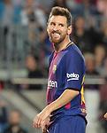 Leo Messi in action ,9th September 2017, Camp Nou, Barcelona, Spain; La Liga football, Barcelona versus Espanyol;