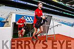 Sean Roche Glenbeigh Glencar in action against  Rock Saint Patricks in the Junior Football All Ireland Final in Croke Park on Sunday.
