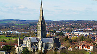 BNPS.co.uk (01202 558833)<br /> Pic: SecretSpitfires/BNPS<br /> <br /> The historic town produced over 2000 Spitfires without the Nazi high command ever realising.<br /> <br /> A campaign to build a memorial to honour the women and children who built over 2,000 Spitfires in secret to help win the Second World War has been launched.<br /> <br /> The little-known operation involved just a few hundred people who operated in requisitioned car garages, factories and workshops in the city of Salisbury.<br />  <br /> They built the legendary aircraft in piecemeal and worked with such discretion that the Wiltshire city's inhabitants were oblivious to it. <br /> <br /> The unsung workers were so prolific they accounted for one tenth of all Spitfires produced during the war.