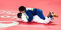(T-B) Misato Nakamura (JPN), Erika Miranda (BRA),<br /> AUGUST 7, 2016 - Judo :<br /> Women's -52kg Contest for Bronze Medal at Carioca Arena 2 during the Rio 2016 Olympic Games in Rio de Janeiro, Brazil. (Photo by Enrico Calderoni/AFLO SPORT)