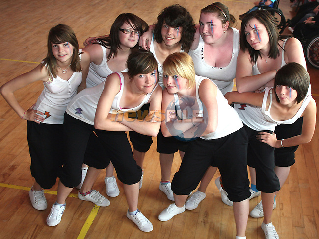 Rampage Crew provided dance entertainment at the Irish Wheelchair Association Summer Camp...Photo NEWSFILE/Jenny Matthews.(Photo credit should read Jenny Matthews/NEWSFILE)....This Picture has been sent you under the condtions enclosed by:.Newsfile Ltd..The Studio,.Millmount Abbey,.Drogheda,.Co Meath..Ireland..Tel: +353(0)41-9871240.Fax: +353(0)41-9871260.GSM: +353(0)86-2500958.email: pictures@newsfile.ie.www.newsfile.ie.FTP: 193.120.102.198.