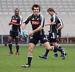 Conrad Smith at All Blacks training. Auckland, Wednesday 22 August 2007.