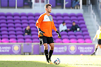 Orlando, Florida - Monday January 15, 2018: Ben Lundgaard. Match Day 2 of the 2018 adidas MLS Player Combine was held Orlando City Stadium.