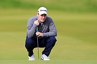 Robert Macintyre (SCO) on the 4th green during Round 2 of the Alfred Dunhill Links Championship 2019 at Kingbarns Golf CLub, Fife, Scotland. 27/09/2019.<br /> Picture Thos Caffrey / Golffile.ie<br /> <br /> All photo usage must carry mandatory copyright credit (© Golffile | Thos Caffrey)
